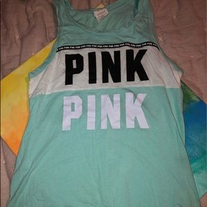 Pink (Victoria's Secret) Tank Top